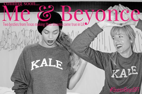 Elizabeth & Beyonce love Kale!