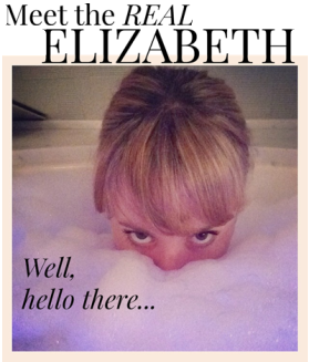 Image: Well Hello There... yes, I'm in the bathtub.