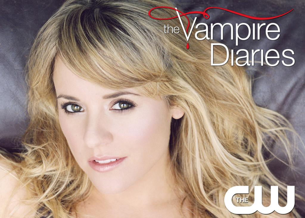 Elizabeth Braun on The Vampire Diaries