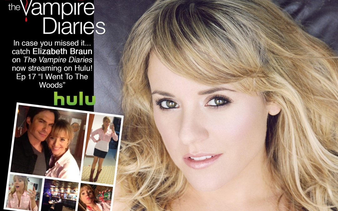 Catch Elizabeth Braun on 'The Vampire Diaries' now streaming on Hulu!
